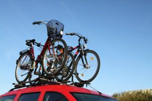 Fahrräder richtig befestigt